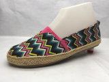 Espadrilles ботинка холстины типа лета плоские (23LG1705)