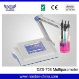 Verificador da qualidade de água do multiparâmetro com certificado do ISO