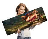 Сгустите коврик для мыши разыгрыша Mousepad экстренный XL огромного резиновый коврика для мыши крупноразмерный при край зафиксированный в красном цвете