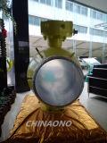 Vávula de bola de gran tamaño de la autógena eléctrica del acero inoxidable del API