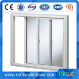 강화 유리 Windows 알루미늄 단 하나 알루미늄 슬라이딩 윈도우 및 문