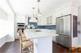 Het moderne Hoge Glanzende Witte Schilderen van de Steen beëindigt Keukenkast 102