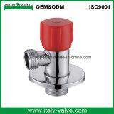 Zugelassenes Qualitätsmessing chromiertes Eckventil (AV3002)