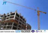 構築のタワークレーンの中国のTopkitのタワークレーンTc6012 8tロード