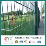 6X6 revestido PVC que reforça a cerca soldada do engranzamento de fio/galvanizou a cerca soldada segurança do engranzamento de fio
