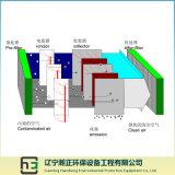 L'espace Traitement-Large de flux d'air d'Eaf/Lf du premier collecteur électrostatique de Virbration