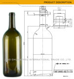 Grandi bottiglie di vino all'ingrosso del Bordeaux 1.5L (434)