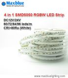 DC24V 60 72 84 96LEDs Per Meter 4 in 1 5050SMD RGBW LED Strip