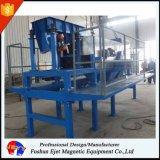 Separador de la inducción del remolino para el retiro de aluminio de los casquillos y de los anillos del vidrio que recicla industria