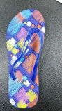 Мягкий Flop Flip ЕВА с печатание в планке PVC