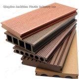 Decking plástico de madera al aire libre del compuesto WPC