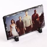 DIYの熱伝達の印刷の上塗を施してある昇華ブランクの写真の石のスレートの石