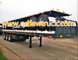 Насыпного груза & контейнера 4 axles трейлер semi