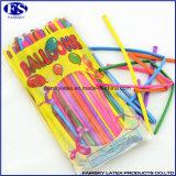 Magische Feiertags-Partei-lange Twisty Latex-Ballone - Paket von 100PCS