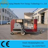 De nieuwe Ontworpen Aanhangwagen van de Dienst van het Voedsel voor Verkoop met BBQ Apparatuur