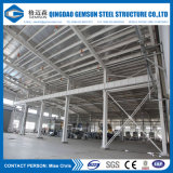 Edificio compuesto de la estructura de acero del almacén del panel