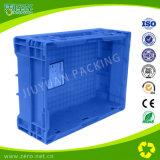 Embalaje plástico de la logística universal azul del color