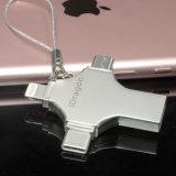 4 em 1 tipo disco instantâneo da movimentação USB3.1 do USB de Pendrive 64G 64GB de C para MacBook