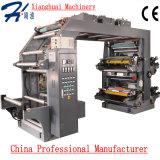 De multi Machine van de Druk van Flexo van de Hoge snelheid van de Kleur voor Geweven Stof van de Film van het Document van het Broodje de Plastic niet