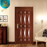 European Style Light Brown Steel Security Door