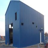 Schlüsselfertiger Stahlgebäude-Rahmen für Werkstatt