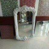 Lo specchio di alluminio vestentesi decorativo poco costoso, specchi della stanza da bagno, compone lo specchio