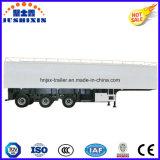 Tri-Axle 13meter Carga em massa / carrinha de carvão Heavy Duty Truck Utility Trailer com caixa de ferramentas