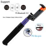 Foldableクリップ方法Smartphoneのための小型アルミニウムBluetooth Selfieの棒