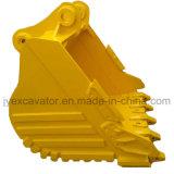 Excavador resistente hidráulico de múltiples funciones de la correa eslabonada de la retroexcavadora