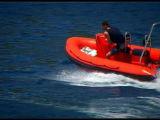 Pattuglia della nervatura della Cina Aqualand 14.5feet 4.4m/imbarcazione a motore gonfiabile rigida (rib440t)