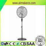 leistungsfähiger abkühlender Retro kupferner Untersatz-stehender Ventilator des Metall16 '' 18 ''