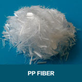 使用される浮彫りにされたマクロ化学繊維PPのファイバーの構築のコンクリート