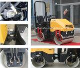 Pequeño compresor vibratorio del asfalto del tambor del doble del rodillo de camino (FYL-900)