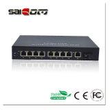 commutateur de POE de réseau Ethernet de ports de 1000Mbps 15.4W 1GX+ 8 PoE