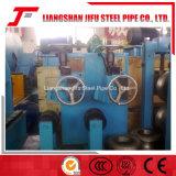 正方形の鋼鉄管の溶接線