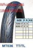 Neumático 2.75-17 2.75-18 de la motocicleta