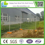 2.1m High Hot Dipped Galvanized Temporary Fence com Plastic Feet para o Au