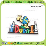 Магниты холодильника подгоняли подарки верблюда выдвиженческие с 3D конструкцией Burj Дубай (RC-DI)