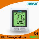 Monitor y velocímetro sin hilos (JS-2162) del ritmo cardíaco de la bicicleta