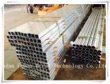 Aluminiumstrangpresßling-Gefäß für Indurstry Material (Quadrat u. runde)
