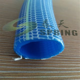 O PVC trançou a irrigação/o jardim/mangueira flexível reforçados (1/4 '', 1/2 '', 5/8 '', 3/4 '', 1 '')