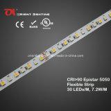 UL hoge CRI Epistar 5050 RGBW het Flexibele LEIDENE van de Strook 2600k Licht van de Strook