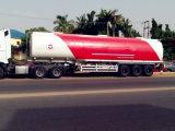 Carro del transporte del LPG del gas de la gasolina y acoplado líquidos del petrolero