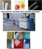 최신 판매 사탕 지팡이 Lollipop 지팡이 플라스틱 밀어남 생산 기계장치