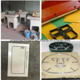 Schwingen-Arm-Leder-hydraulische Platten-Ausschnitt-Maschine