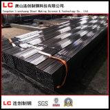 Tubo de acero negro con alto calidad