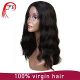 Peluca llena del cordón del pelo humano del pelo brasileño