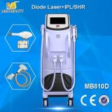 Remoção profissional do cabelo do laser do diodo com IPL (MB810D)
