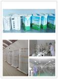 Materiais laminados sobre papel usando-se para o empacotamento asséptico do leite