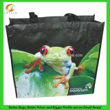 Non сплетенный прокатанный мешок Tote, с изготовленный на заказ размером